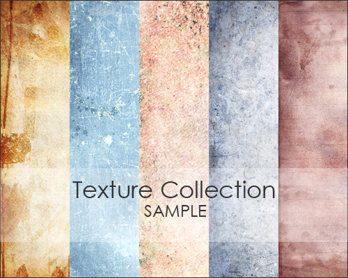 Texture collection grunge background 5 шт.