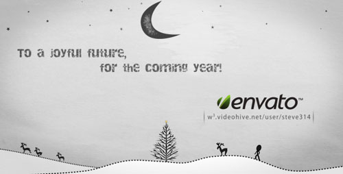 Videohive - Inkman presents Xmas & New year's Greetings (AE)
