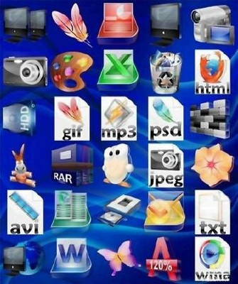 TransparenC Icons Pack (Декабрь 2009)