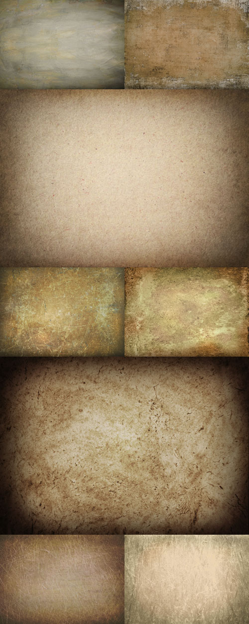 A set of brown texture