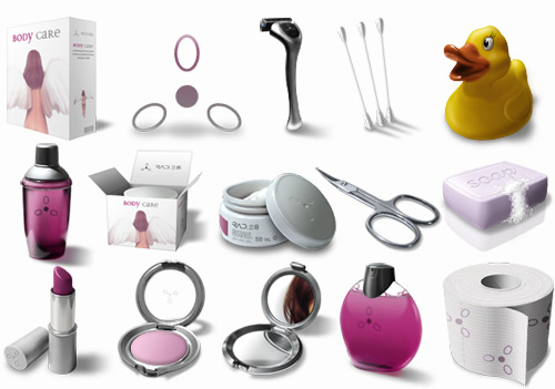 Body Care Icons - Иконки