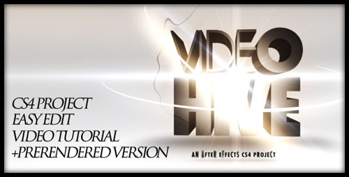 Videohive - After Effects Project - 3D text opening