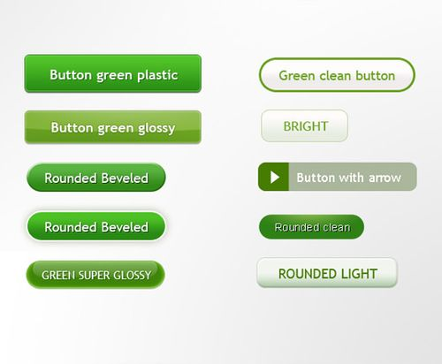 Green buttons for sites