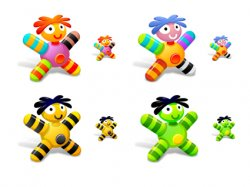 Cloth Dolls Icons. Иконки