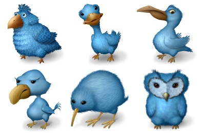 Ugly Birds Icons by BanzaiTokyo