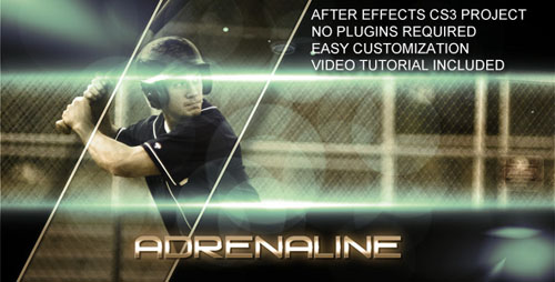 VideoHive - Adrenaline - Project for After Effects