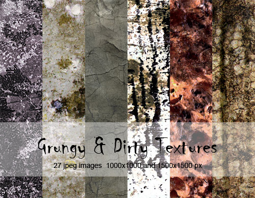 Grungy & Dirty Textures