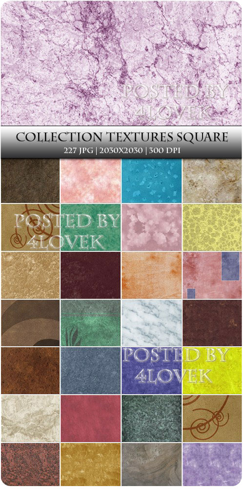 Collection Textures Square