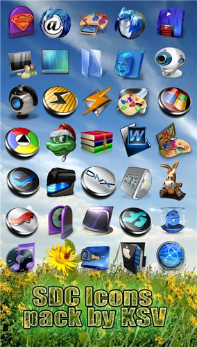 SDC Icons pack by KSV