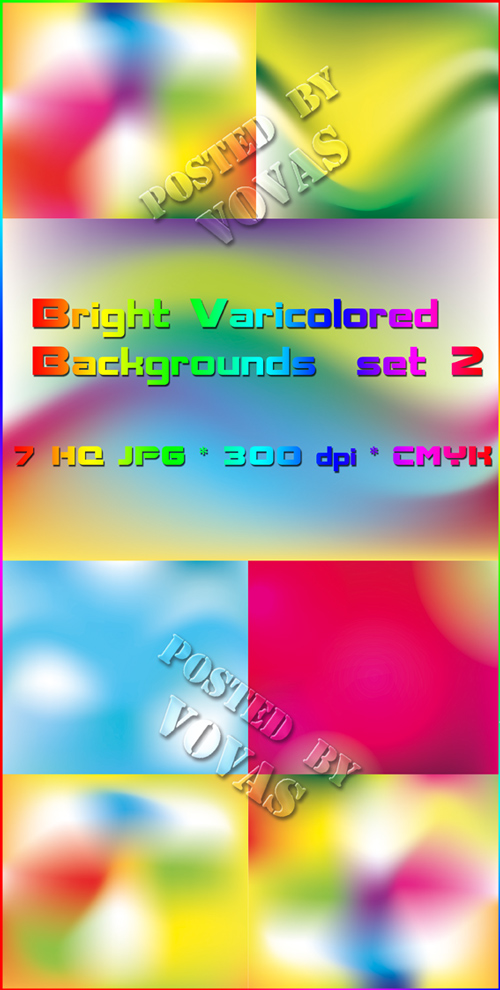 Bright Varicolored Backgrounds 2
