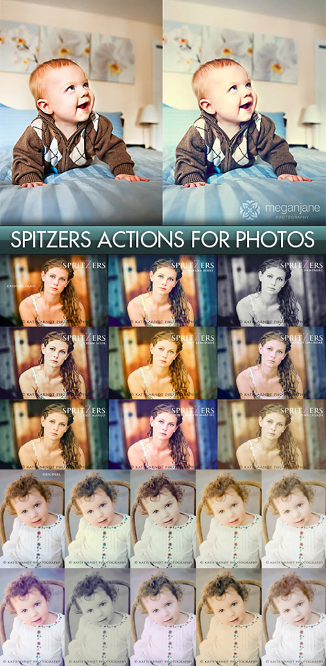 Spitzers Actions for Photoshop