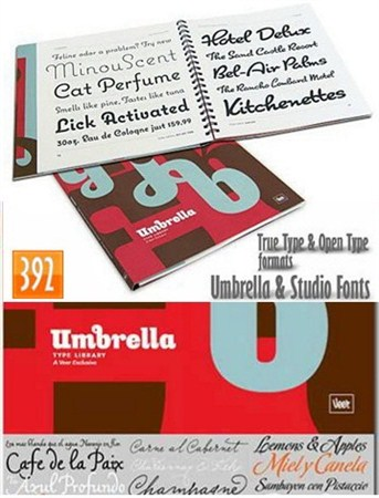 ��������� ������������ ������� / Studio Umbrella Fonts