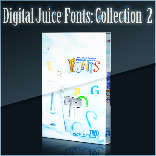 Digital Juice Fonts: Collection Two