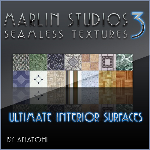 MARLIN STUDIOS - Seamless Textures 3 - Ultimate Interior Surfaces