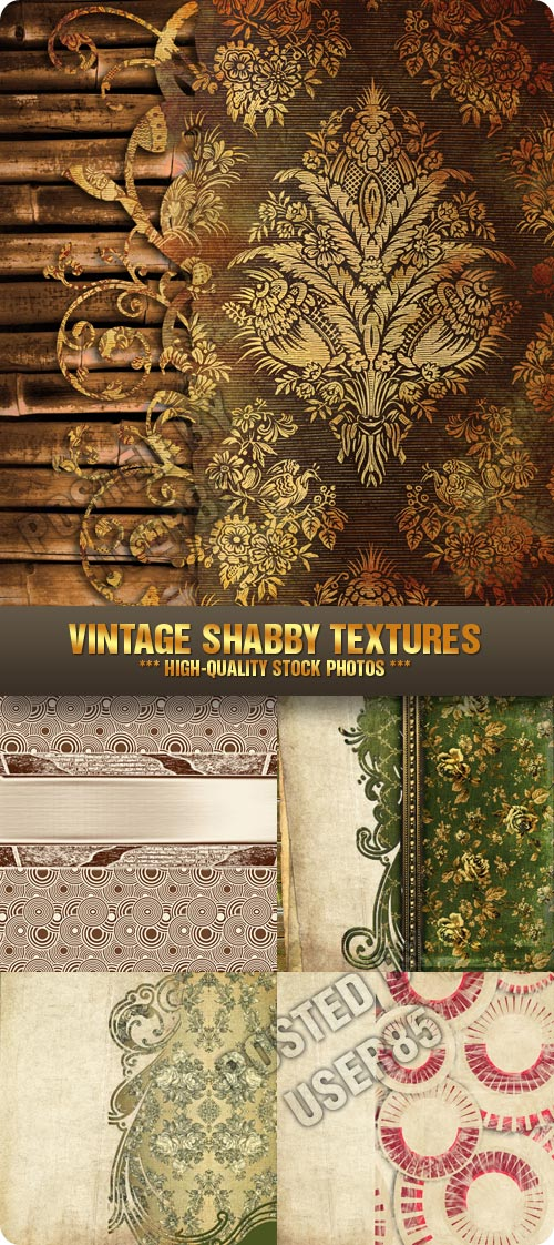 Stock Photo - Vintage Shabby Textures
