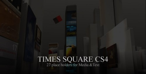 Videohive - Times Square CS4 - Projects for After Effects
