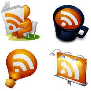 Smaching RSS Feed PNG Icons