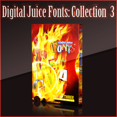 Digital Juice Fonts: Collection Three