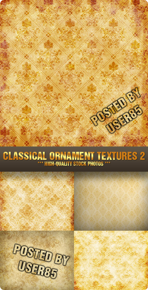 Stock Photo - Classical Ornament Textures 2