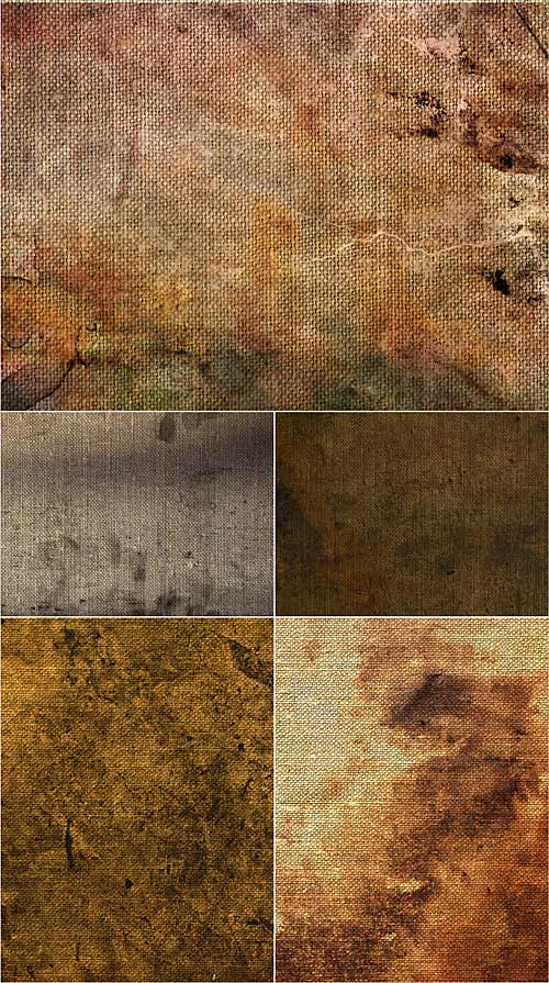 Dirty canvas textures