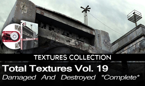 Total Textures V19 - Destroyed & Damaged Textures Complete [2011]