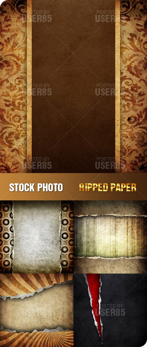 Stock Photo - Ripped Paper
