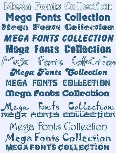 3500 Huge Collection of Fonts
