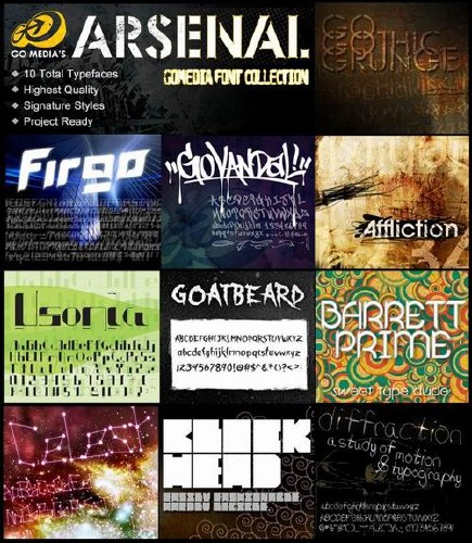 GoMedia-Fonts-Collection