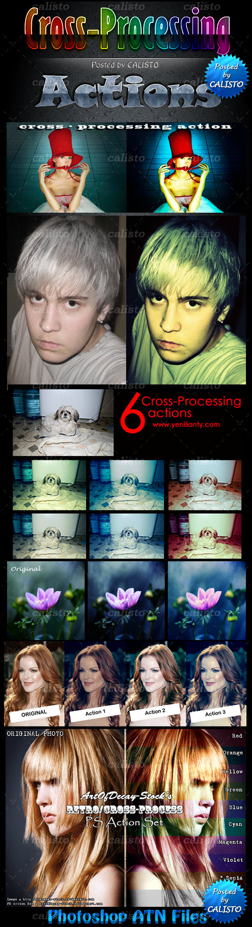Cross-Processing Actions