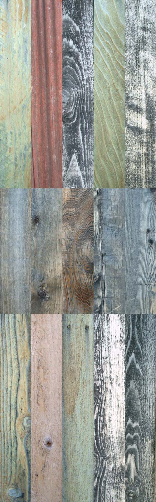 A set of wooden texture # 16