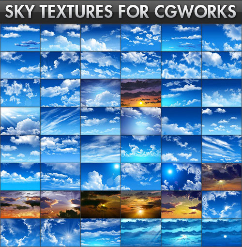 Sky Textures For CG Works