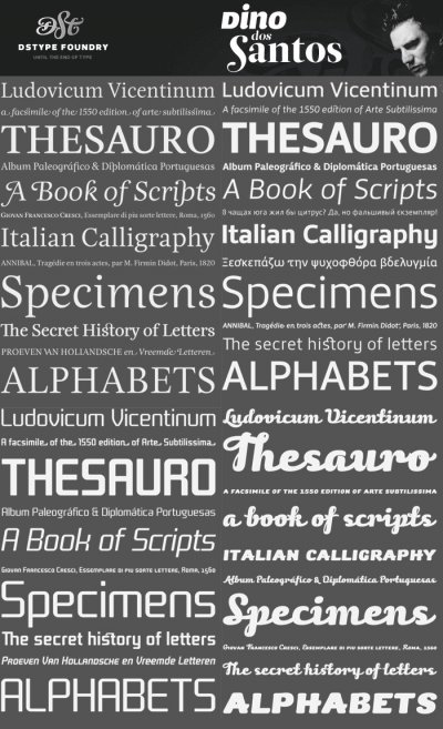 56 Fonts by Dino Dos Santos