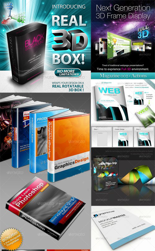 GraphicRiver - Mockup Generator Pack 1