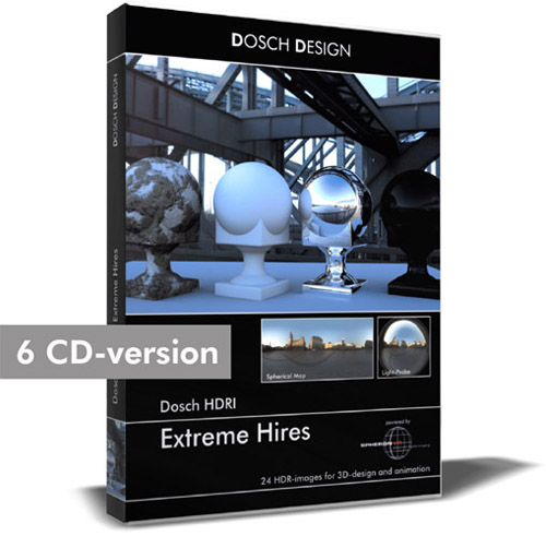 Dosch HDRI Extreme Hires Collection