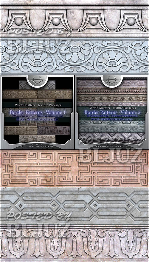 World Matters Borders Pattern vol 1-2