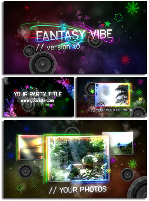 Videohive - Fantasy Vibe V1 - Full HD 39400 - Project for After Effects