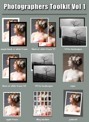 Collection Photoshop Actions
