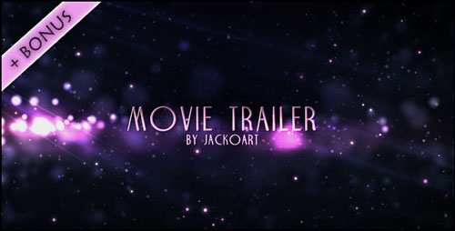 Videohive - Movie Trailer 04 166641 - Project for After Effects