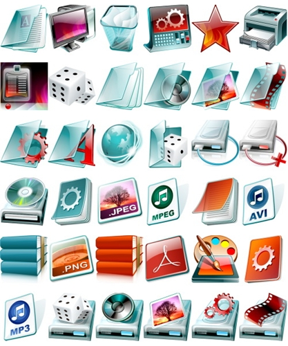 Flash Live System Icons