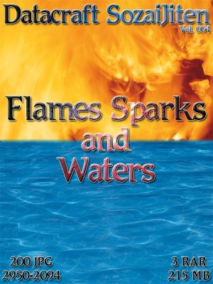 Datacraft SozaiJiten Vol. 004 - Flames Sparks & Waters