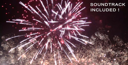 Videohive - Spectacular Fireworks With Music 807718