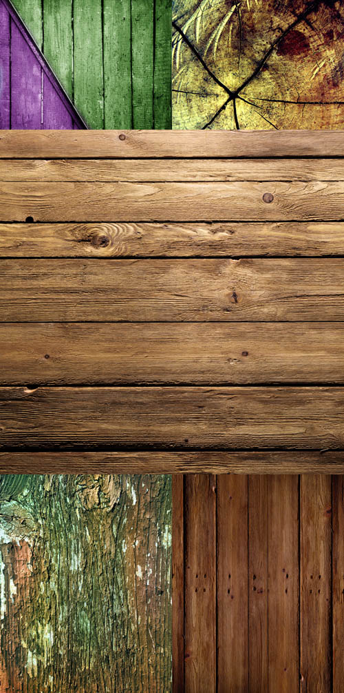 A set of wooden texture # 17