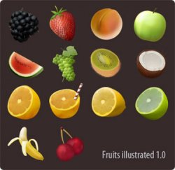 Fruits Illustrated. ������