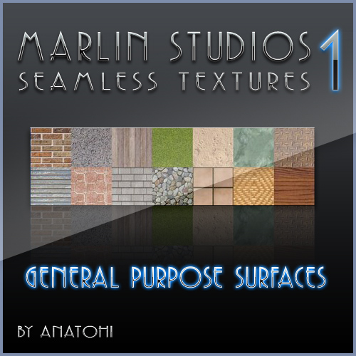 MARLIN STUDIOS - Seamless Textures 1 - General Purpose Surfaces
