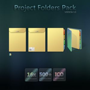 Project Folders Pack Icons