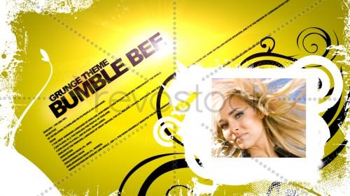 Revostock - Bumble Bee Grunge Theme 39908 - Projects for After Effects