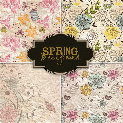 Textures - Spring Backgrounds #18
