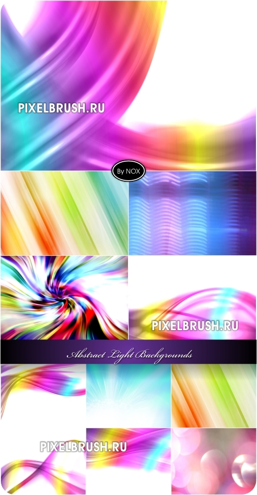 Abstract Light Backgrounds - ����������� ����