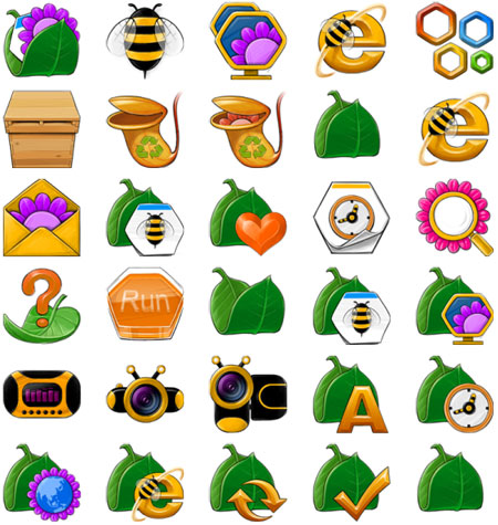 Little Bee Icons