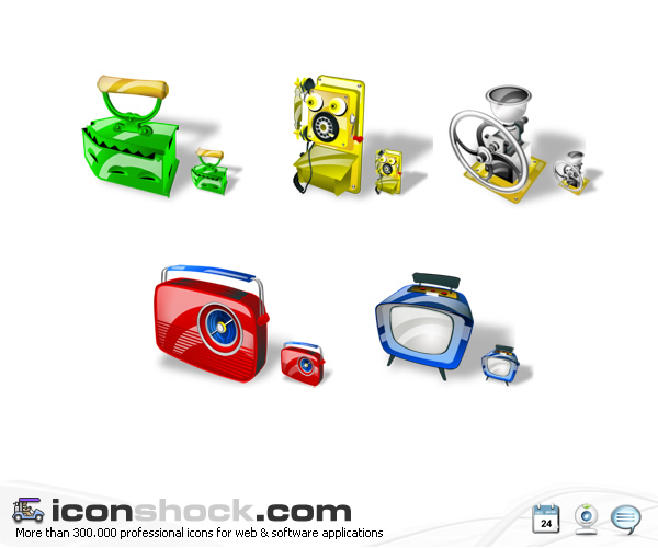 Antiques Web Icons - Иконки